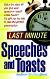img - for Last Minute Speeches and Toasts book / textbook / text book