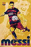 Trends International FC Barcelona Lionel Messi Wall Poster 22.375