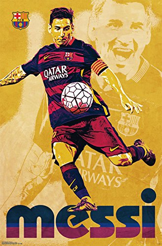b830b19d3 Trends International FC Barcelona Lionel Messi Wall Poster - Import It All