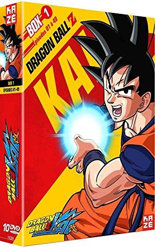 Dragon Ball Z Kai - Box 1/4 [Francia] [DVD] -
