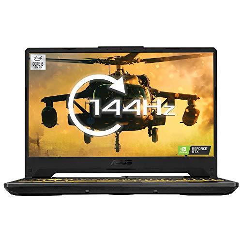 "ASUS TUF FX506LI Full HD 144Hz 15.6"" Gaming Laptop (Intel i5-10300H, Nvidia GeForce GTX 1650Ti, 8GB RAM, 512GB SSD, 4-Zone RGB Keyboard, Windows 10) - Amazon Exclusive, Fortress Gray"