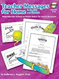 Teacher Messages for Home, Carson-Dellosa Publishing Staff, 0768206529