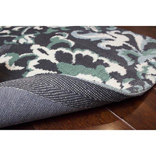 "Laura Ashley Penelope Plush Knit Microfiber 24"" X 36"