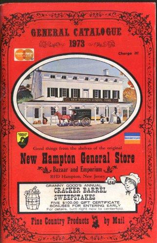 New Hampton General Store novelty knick-knack catalog 1973 (Hampton Stores)