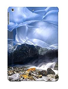 56621b73436 Inside Mendenhall Glacier, Alaska Awesome High Quality Ipad Air Case Skin/perfect Gift For Christmas Day