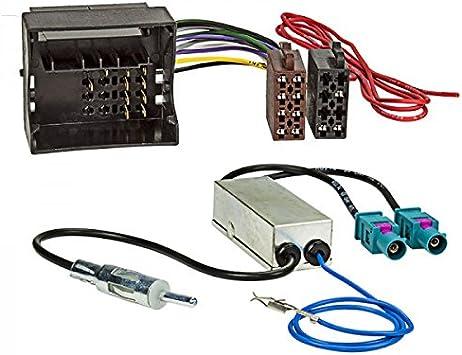 ACV 1524-77+1324-02 - Cable de conexión y adaptador de antena, multicolor