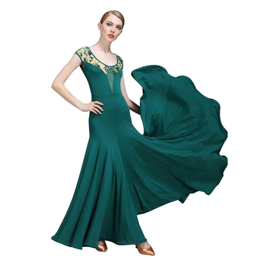 YTS Modern Dance Rock, Vier Jahreszeiten Damen Kleid B07H4H6GGX Abendkleider Wartungsfähigkeit