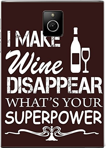I Make Wine Disappear What is your Super Power Blackberry Passport Vinyl Decal Sticker Skin by Debbie's Designs