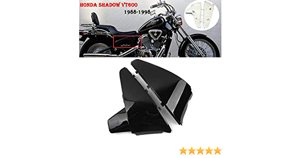 ABS Battery Side Faring Cover Fit For Honda Shadow VT VLX600 STEED400 88-98 96