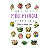 Old-Time Mini Floral Stickers