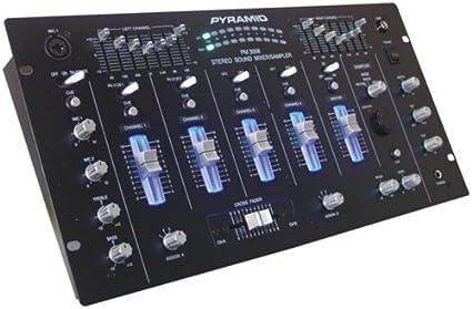 Amazon.com: Pirámide PM3008 19 Studio Pro Rack mezclador ...