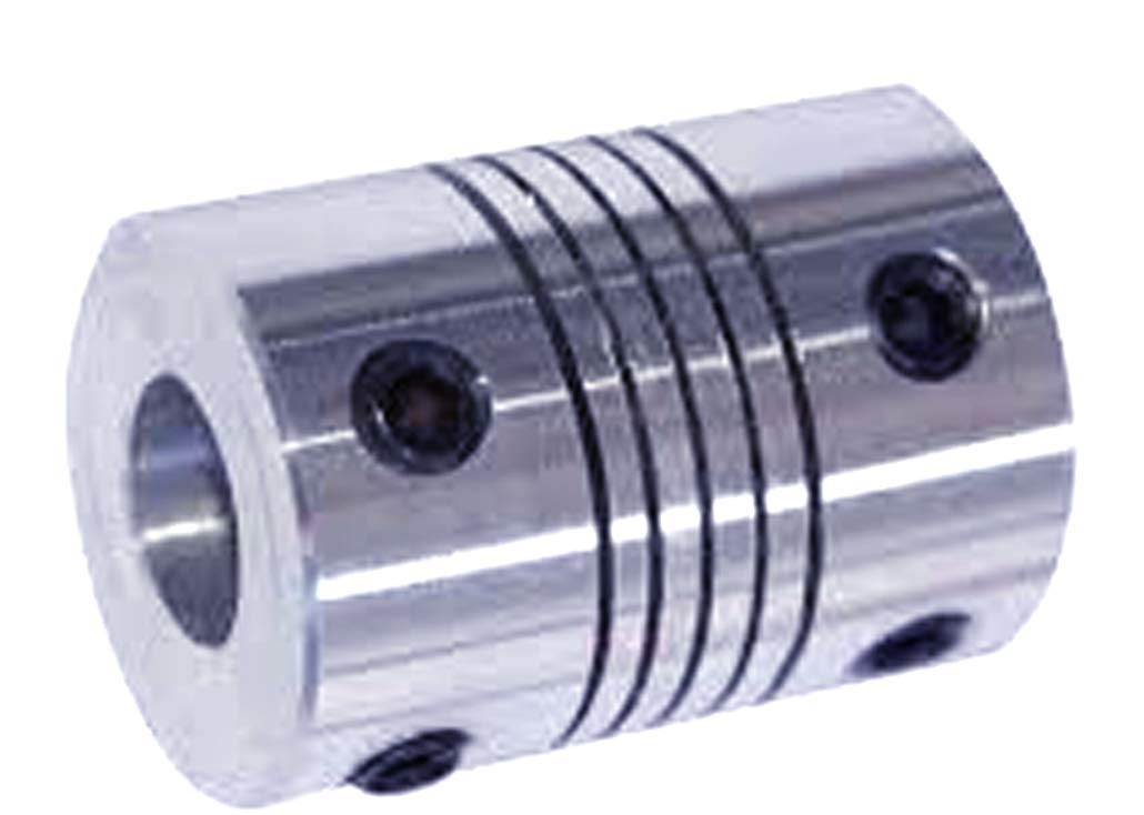 VXB Brand Flexible Parallel Aluminium Jaw Shaft CNC Coupling D19-L25-8x8MM