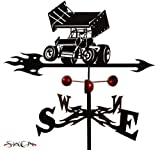 Farrell Series SPRINT CAR FLAT POST Mount Weathervane ~NEW~ by SWEN Products