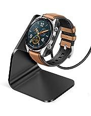 CAVN Ladegerät Kompatibel mit Huawei Watch GT/Honor Magic Watch Ladestation, (130cm/4.2ft) Ersatz USB Aluminium Ladekabel Schnellladegerät Lade Dock für GT Classic/Active/Elegant/Honor Magic Watch