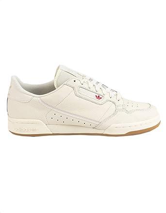 los angeles d5e67 4e7c1 Amazon.com  ADIDAS Continental 80 Off White   Gum Shoes, White, 7  Clothing