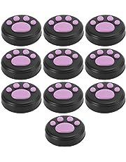 Uitstekende zachte hoes voor de duimgrepen van de kattenpoot, joystick,(Black powder claws)