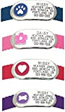 LuckyPet Jewelry Collar Tag for Dogs and