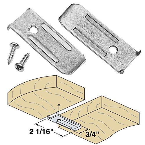 Platte River 941392, Hardware, Table, Table Leaf Hardware, 14 Gauge Leaf Leveler, 10-pack ()
