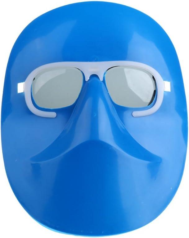Máscara De Soldadura De Pulido Para El Casco Mascarilla Certificada Para Soldadura Con Gafas - Gafas grises
