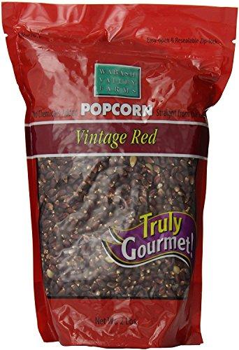 Wabash Valley Farms Gourmet Popcorn Kernels, Vintage Red, 2 Pound (Gourmet Popcorn Canada)