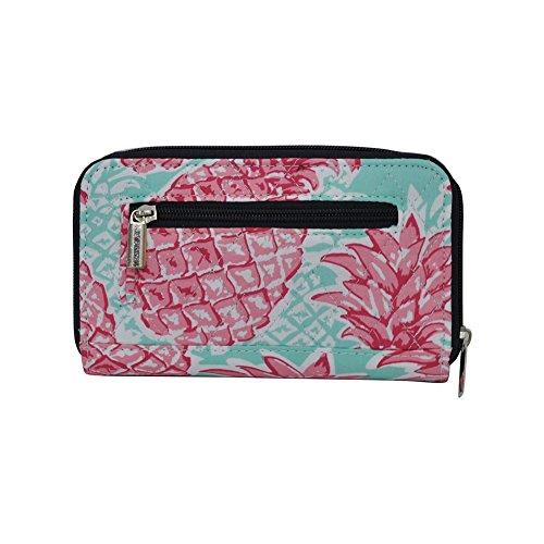 Wallet Pineapple Quilted Twist NGIL Summer navy Lock 4xzqpwf