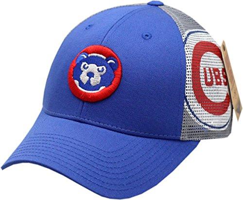 American Needle Chicago Cubs Snapback Trucker Mesh 84 Logo Blue/Grey