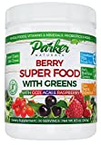Berry Green Superfood Powder with Organic Greens & Organic Fruits, Enzymes, Probiotics, Antioxidants, Vitamins, Minerals - Alkalize & Detox - Non GMO, Vegan & Gluten Free - 240 Grams, 22000 ORAC