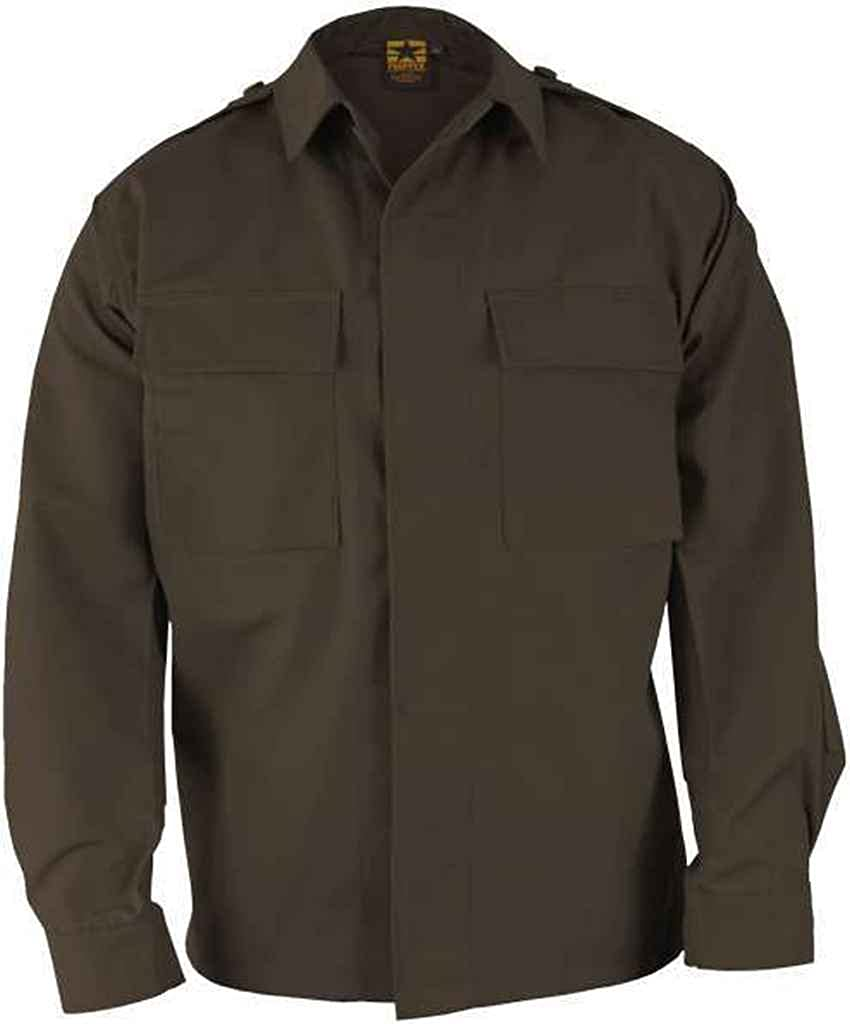 Propper BDU 2-Pocket L/S Shirt, Battle Rip 65/35 Poly/Cotton RipStop