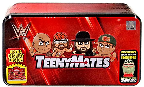 WWE TeenyMates Series 1 Collector Tin - Wwe Storage