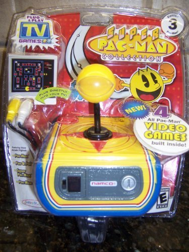 SUPER PAC-MAN COLLECTION: Plug & Play TV Games (BRAND NEW!) Edition 3 by Namco Super PAC-MAN