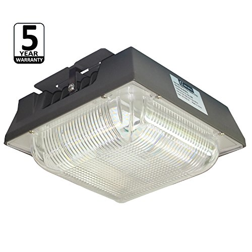 JMKMGL 75W LED Canopy Light,8300LM 5000k,175W to 350W HPS/HID Replacement,8.9