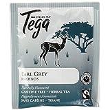 Tega Organic Tea Earl Grey Rooibos Tea, Earl Grey, 16 Count