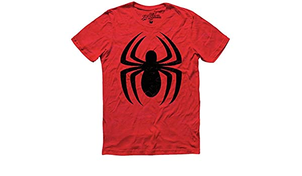 Amazon.com: Mascara De Latex Marvel x Spider-Man Mens T Shirt Size Medium: Clothing