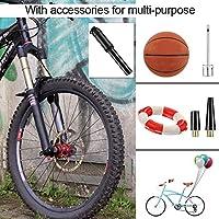 PullPritt Mini Bomba para Bicicleta, Bomba de Mano Portátil ...