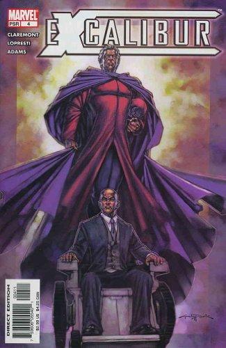 excalibur-2nd-series-4-vf-nm-marvel-comic-book