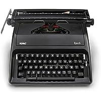 Royal Epoch Portable Manual Typewriter SPANISH VERSION (BLACK)