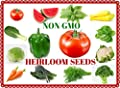 Heirloom Vegetable Seeds- Non GMO - Fruit Seeds-Vegetable Seeds- Herb Seeds ALL IN ONE-GREAT GIFT IDEA!!