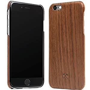 Woodcessories - EcoCase Cevlar - Premium Design Case, Cover, Protection for the iPhone 6,6s Plus made of real, FSC certified walnut wood - ultra slim