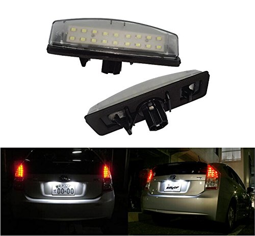 GP Xtreme Error Free LED Replacement License Plate Lamp Toyota Camry Lexus IS300 GS300 GS400 GS430 ES300 ES330 RX330 RX350 Toyota Camry/Aurion/Prius