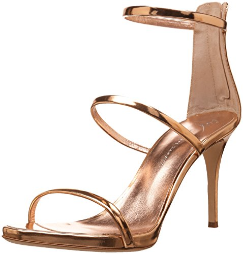Giuseppe Zanotti Women's I700050 Heeled Sandal Rose Gold cheap limited edition lowest price for sale outlet footlocker outlet visit EiaYilE