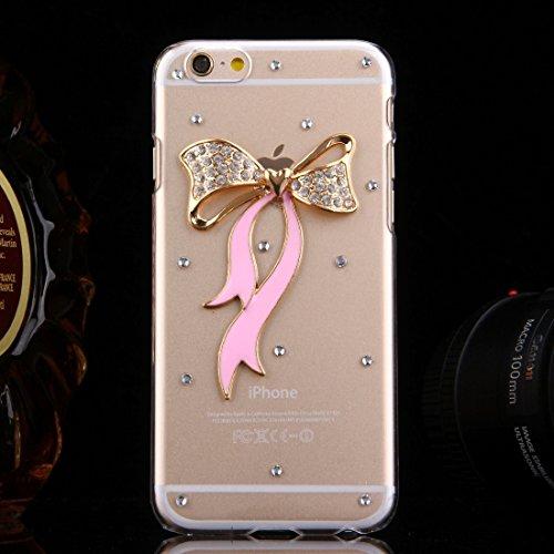 Phone Taschen & Schalen Für iPhone 6 Plus & 6s Plus Diamond verkrustete Sonnenblumen Perle Bell Pattern PC Schutzhülle Back Cover ( SKU : IP6P1210E )