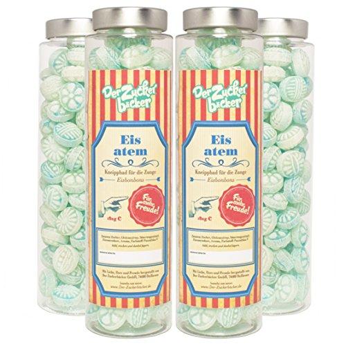 Eisatem 180g Menthol-Bonbons im Zylinder
