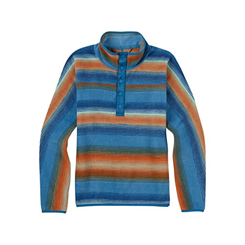BURTON NUTRITION Burton Boys Youth Sparz Anorak Hoodie, Glacier Beach Stripe, Large