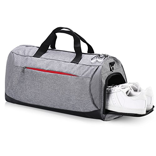 288c8542e5 Eocean Sports Gym Bag with Shoes Compartment, Waterproof Gym Sports Bag for  Men and Women