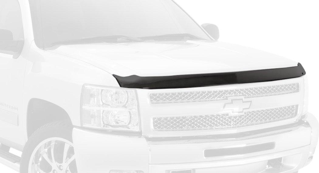 Auto Ventshade 322150 Aeroskin Flush Mount Dark Smoke Hood Protector for 2011-2016 Kia Sportage