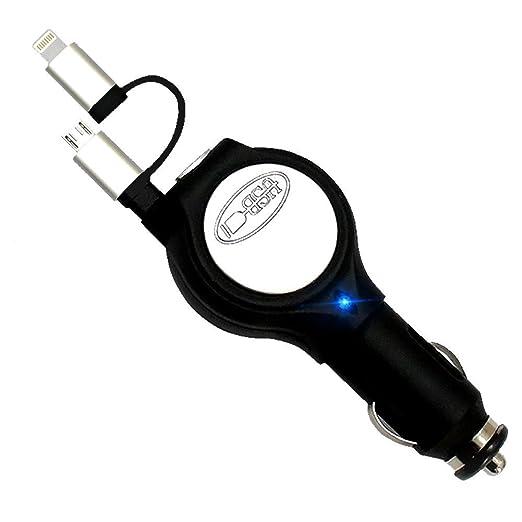 ZZY Cargador de Coche USB 2 en 1 para MP3/Camera/PSP/GPS ...