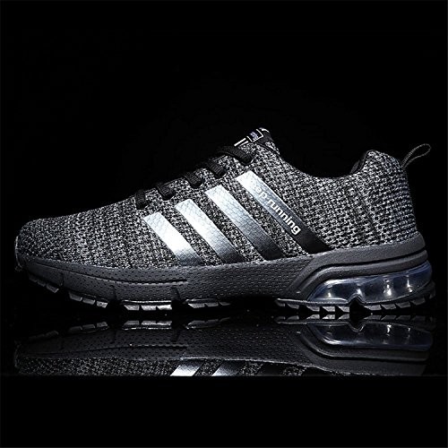 Shoes Sport Mens XIDISO Black Shoe for Air Sneakers Grey Running Tennis Lightweight Athletic Womens Men Cushion dtd6qv