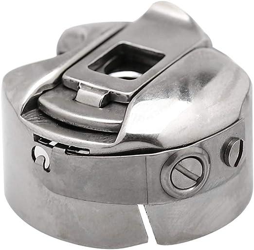 Healifty Caja de la bobina de la máquina de coser de acero inoxidable 4pcs para máquinas de coser: Amazon.es: Hogar