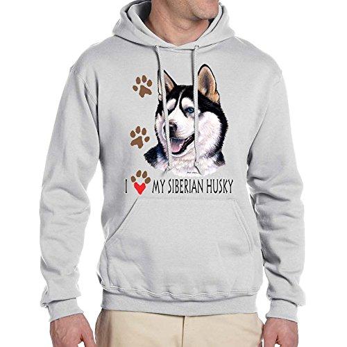 adult s i love my siberian husky