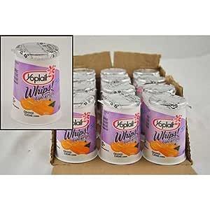 Amazon.com : Yoplait Whips Yogurt, Orange Creme, 4 Ounce ...